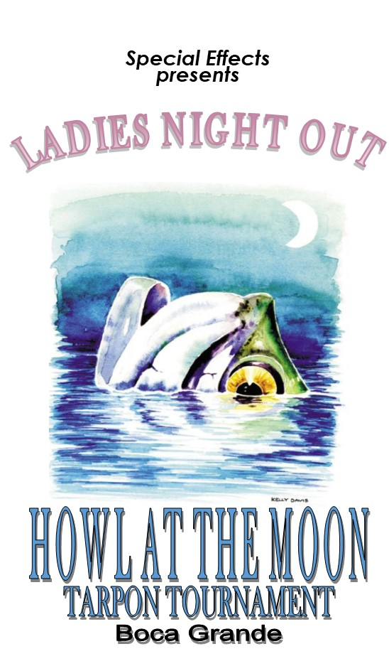 Ladies Howl at the Moon Flyer