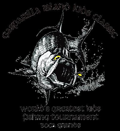 Gasparilla Island Kids Classic Tarpon Tournament Official Logo