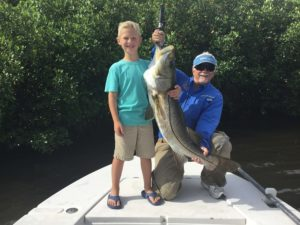 Snook Catch 8 Year Old